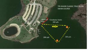 Tri-Shark Classic Swim Course